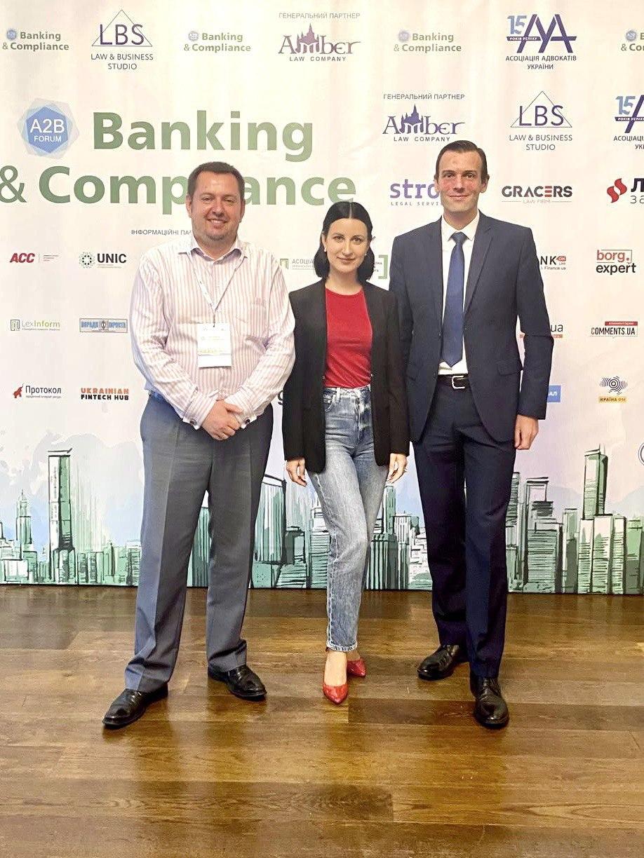 МТБ БАНК прийняв участь в Banking&Compliance 2021 A2B Forum в статусі еспонента форуму. - фото 3 - mtb.ua