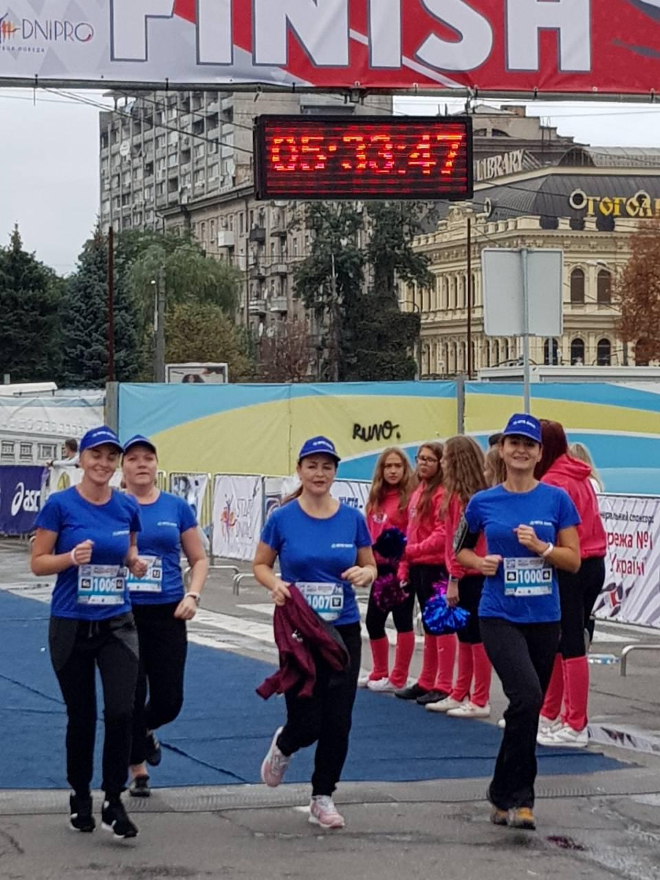 Сотрудники МТБ БАНКа пробежали благотворительную «Милю добра» - фото 3 - mtb.ua