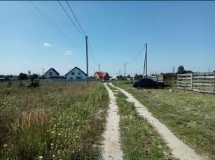 Land plots in the city of Makarov, Kiev region