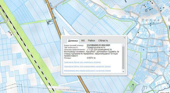 Фасадный участок коммерческого назначения на трассе Одесса-Киев