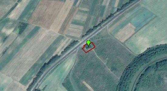 Land plot under the gas station on the highway Lviv-Lutsk