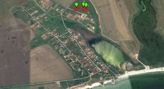 Land plots in with. Marine, Koblevo, Nikolaev region