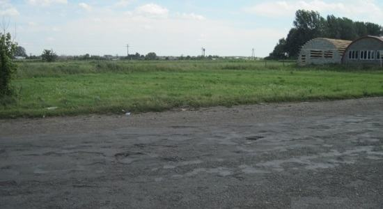 Land plot under a gas station in the town of Zhvirka, Lviv region