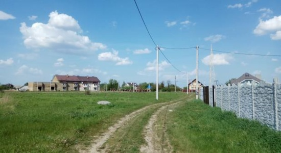 Plot of land in the village. Krushinka of Vasilkovsky district