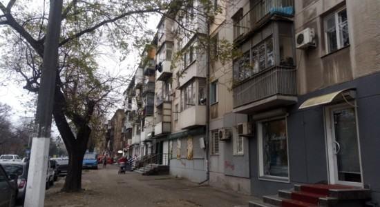 Квартира в Одесі, фасад на проспект Гагаріна
