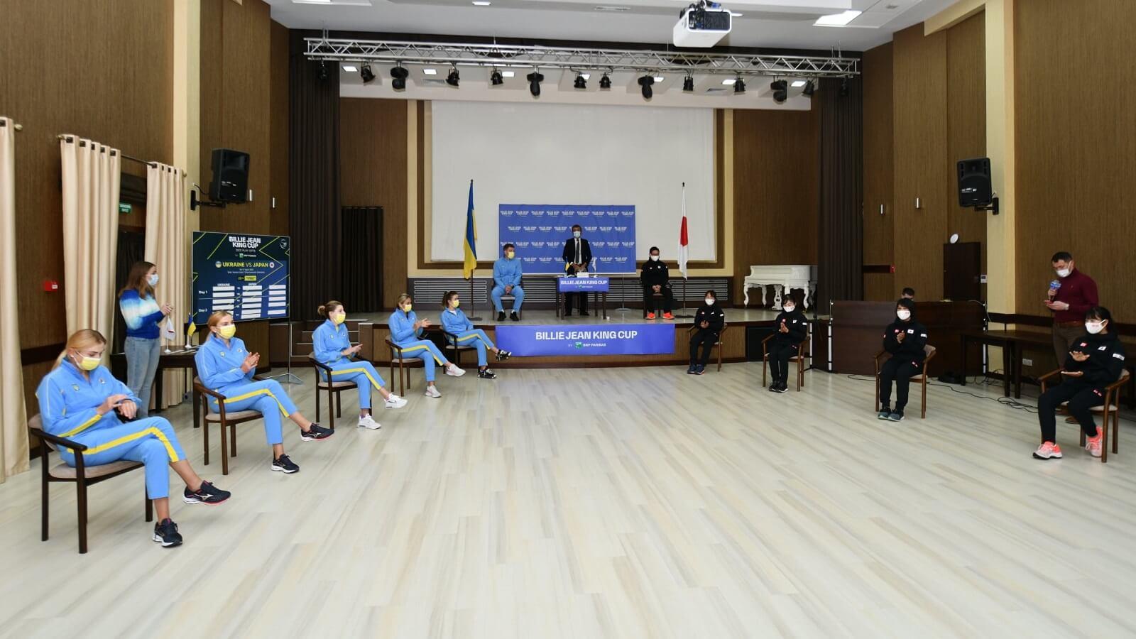 Матч тенісного Кубку Біллі Джин Кінг між Україною та Японією за підтримки МТБ БАНКу вже завтра!  - фото - mtb.ua