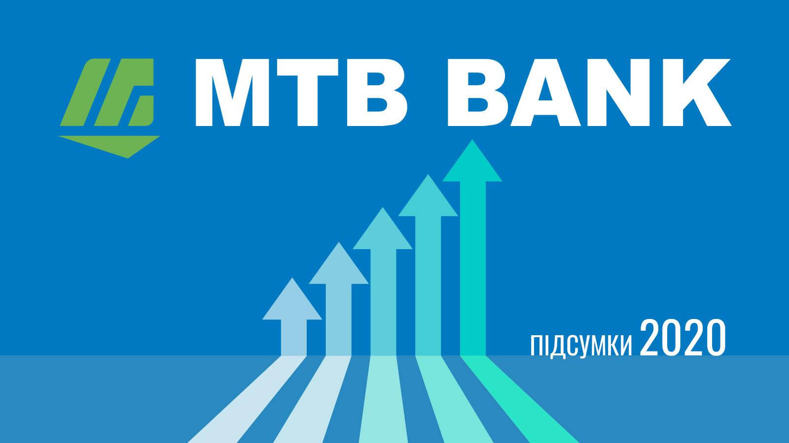 Итоги-2020:  МТБ БАНК продемонстрировал 63% прироста прибыли  - фото - mtb.ua