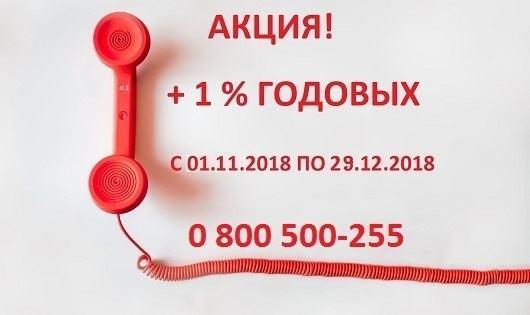 ДОДАТКОВО 1% РІЧНИХ! - фото - mtb.ua
