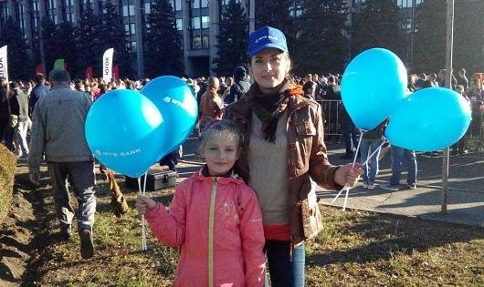 МТБ БАНК взяв участь в напівмарафоні «Steel Run» - фото - mtb.ua