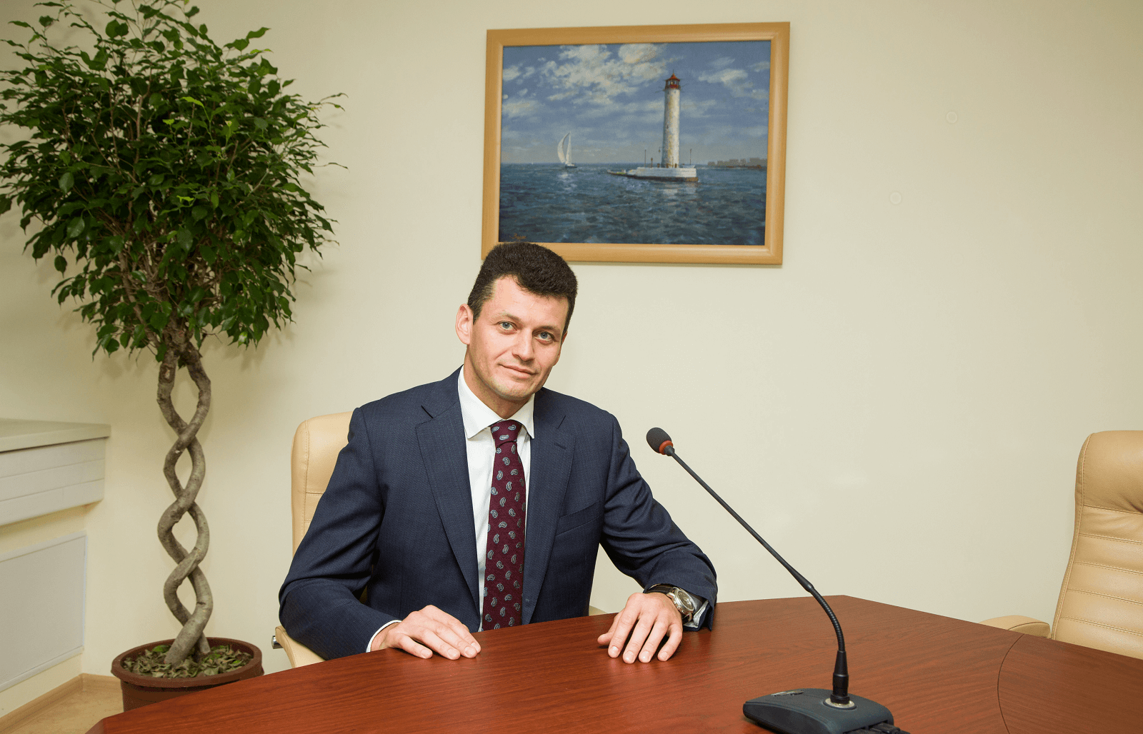Yuri KRALOV: We are breaking down walls of distrust between banks and borrowers – we lend on gas security by entering into a trust property agreement - photo - mtb.ua