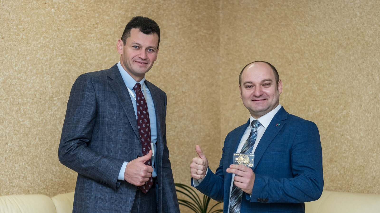 MTB bank is one of the first banks in Ukraine to start issuing UnionPay payment cards - photo - mtb.ua