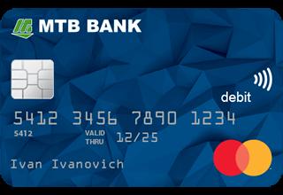 Карточка для собственных нужд «CLASSIC» от MTБ Банка - в ТОП-23 лучших пластиковых карт - фото - mtb.ua