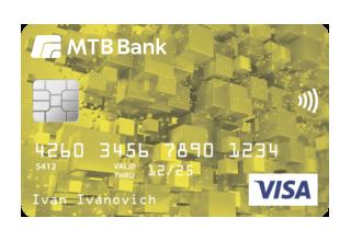 Картка для отримання зарплати «GOLD»